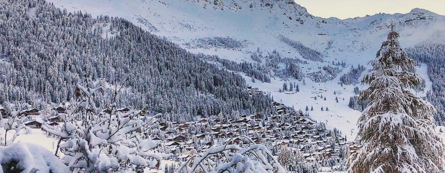 View of Verbier by @robinquarrelle